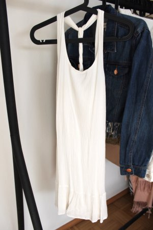 Only Halter Dress white