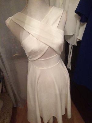 Asos Vestido babydoll blanco