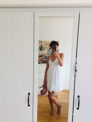 weißes Kleid von Hollister Gr. Xs/S