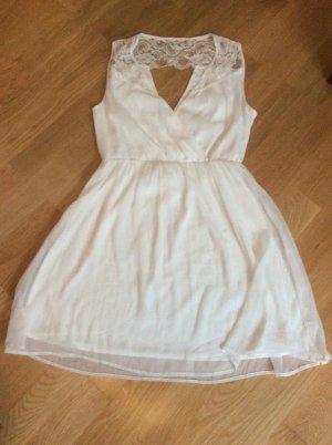 Weißes Kleid von Vero Moda, Größe M, ungetragen
