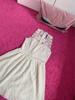 H&M Chiffon jurk wit-room