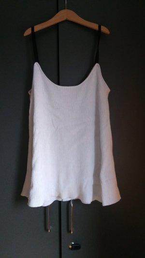 Weißes Knit Top Zara M