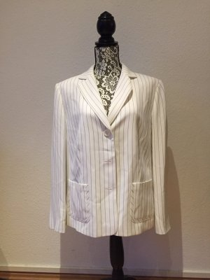 Gerry Weber Pinstripe Suit white-blue