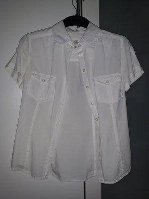 H&M L.O.G.G. Camisa de manga corta blanco