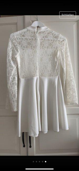 Babydoll-jurk wit