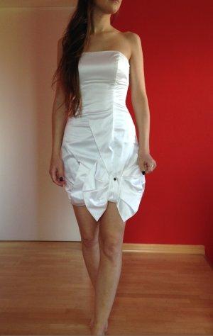 Weißes, kurzes Designer-Abendkleid |Karen Millen