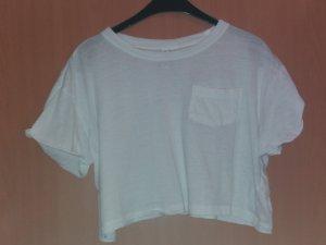 weißes kurzes H&M T-shirt