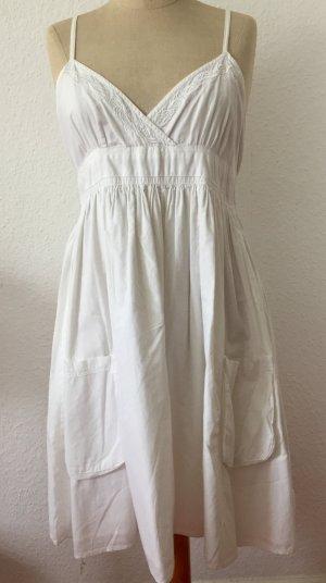 Weißes,kurzes Sommerkleid