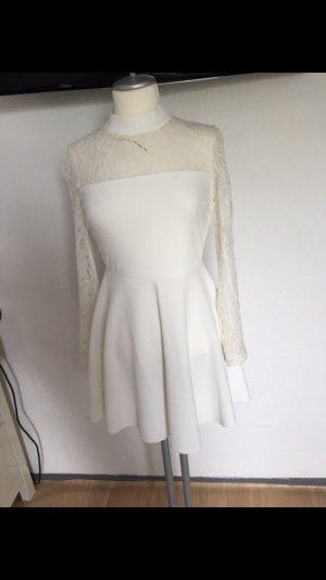 Weißes langarm Kleid ASOS Neu