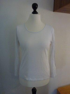 Weißes Langarmshirt Gr.M