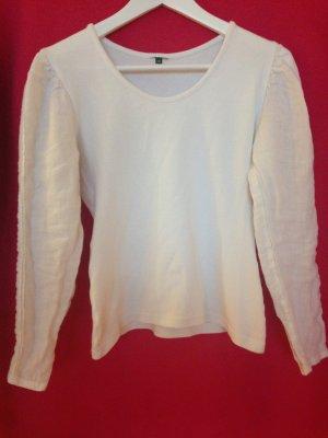 Longsleeve white-natural white