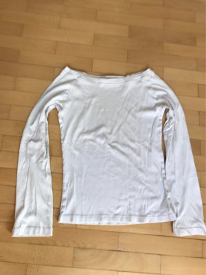 Hallhuber Boatneck Shirt white