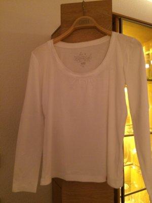 Weißes Langarmshirt von EDC