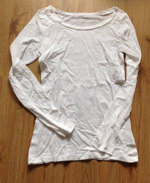 Weißes Langarmshirt von Marc O'Polo