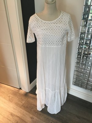 Weißes langes Kleid von Gioia Cologne, Gr. S