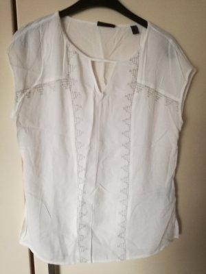 weißes leichtes Top / Bluse