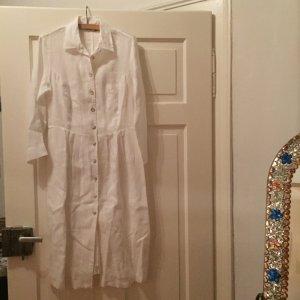 Weißes Leinenkleid von Scapa