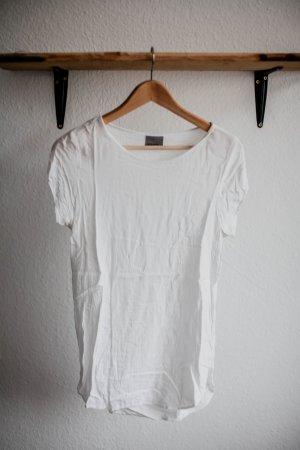Weißes Longfit-Shirt von Only