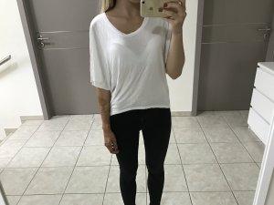 weißes luftiges Shirt