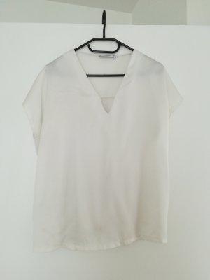 Mango Shirt wit