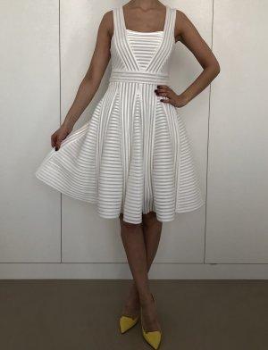 Weißes Mesh Kleid von MAJE