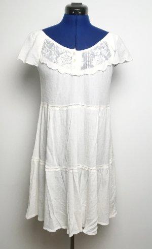Weißes Minikleid H&M Gr. 36