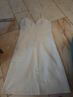 H&M Halter Dress white