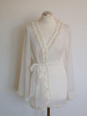 weißes Neglige von Lascana Gr. 32/34 XS nie getragen