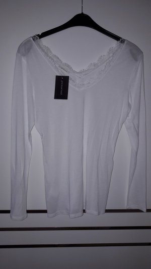 Weißes neues Shirt, Größe XL, Promod