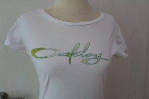 weißes Oakley T-Shirt