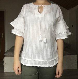 Cynthia Rowley Shirt Tunic white