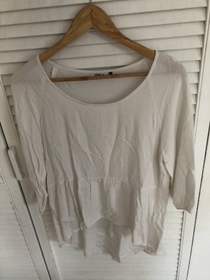 Only Boatneck Shirt white