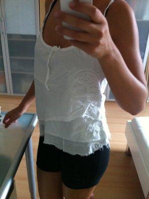 weißes Oberteil von Pepe Jeans Gr S
