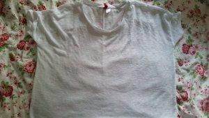 Weißes Oversize T-Shirt