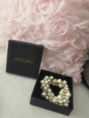 Marc Cain Pearl Bracelet white-rose-gold-coloured