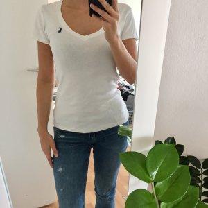 Weißes Polo Ralph Lauren Shirt