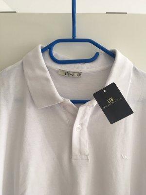 LTB Camiseta tipo polo blanco Algodón