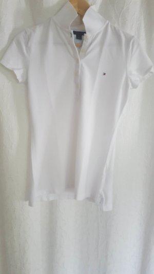 Weißes Polo-Shirt von Tommy Hilfiger
