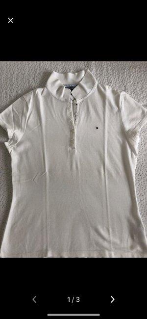 Weißes Polo von Tommy Hilfiger