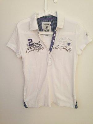 Weißes Poloshirt für Damen