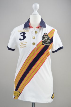 Weißes Poloshirt Tom Joule Joules Jaeger-Lecoultre Größe S