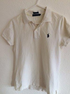Weißes Poloshirt von Ralph Laurent