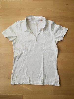 s.Oliver Camiseta tipo polo blanco