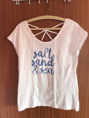 edc Camiseta estampada blanco-azul