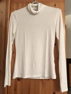 Weißes Rollkragen Langarmshirt H&M