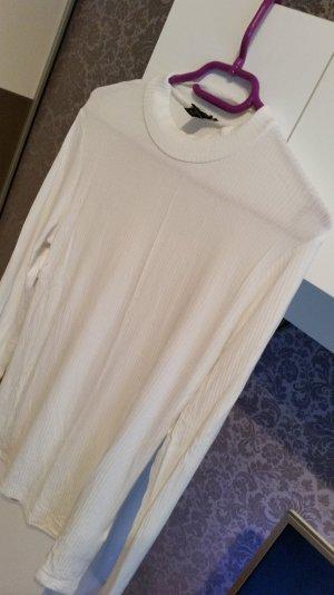 Weißes Rollkragen Shirt
