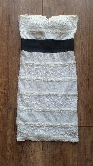weißes Schlauchkleid aus Spitze/ Sommerkleid
