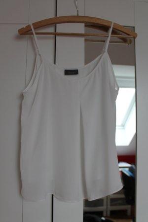 Weißes schönes Top, nur einmal getragen, neuwertiger Zustand