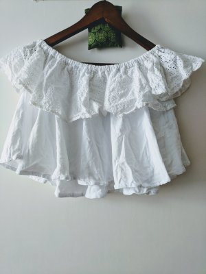Pull & Bear Off the shoulder top wit