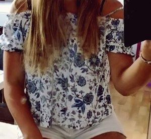 H&M One Shoulder Shirt multicolored